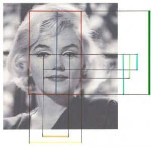 Marilyn Monroe visage ovale Imaderm