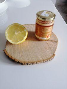 Masque coup d'eclat miel et citron