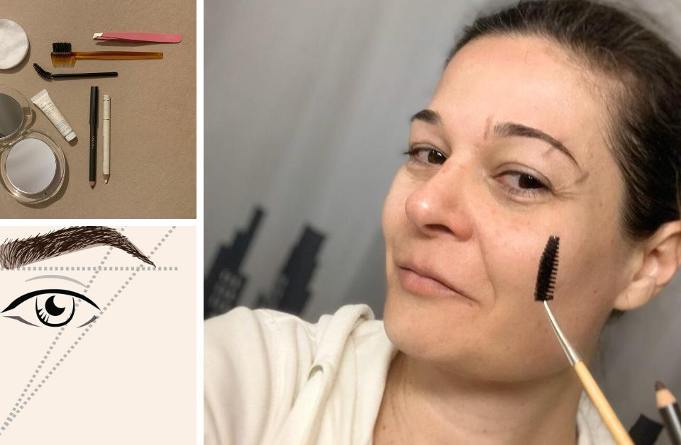 Imaderm Genève Blog tutoriel pour sourcils