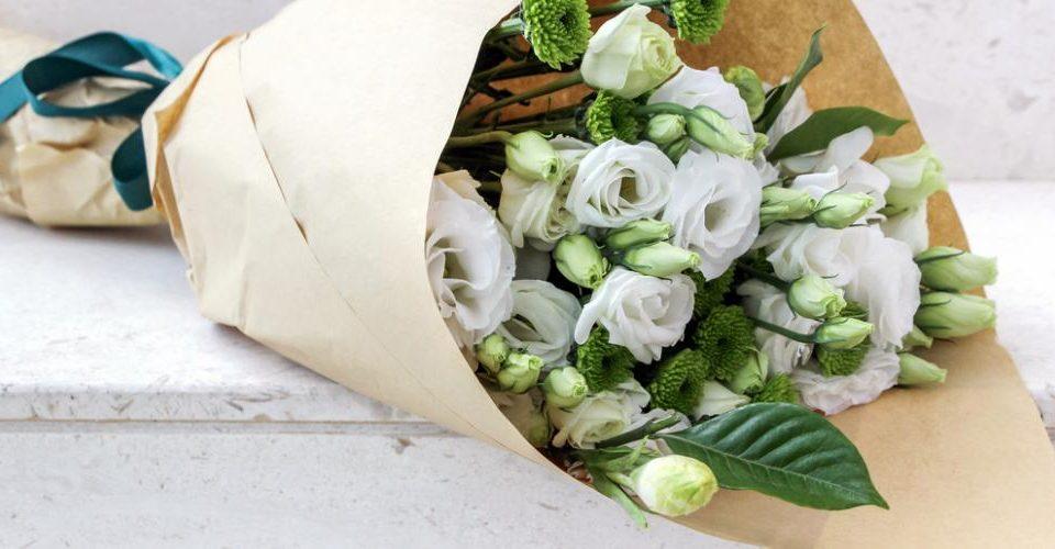Imaderm fleurs blanches