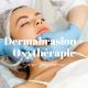 image qui représente une femme en train de recevoir un soin de dermapod pour illustrer l'offre saisonnière dermabrasion et oxythérapie chez imaderm