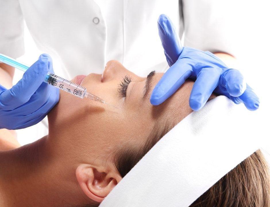 Image qui montre un traitement de médecine esthétique