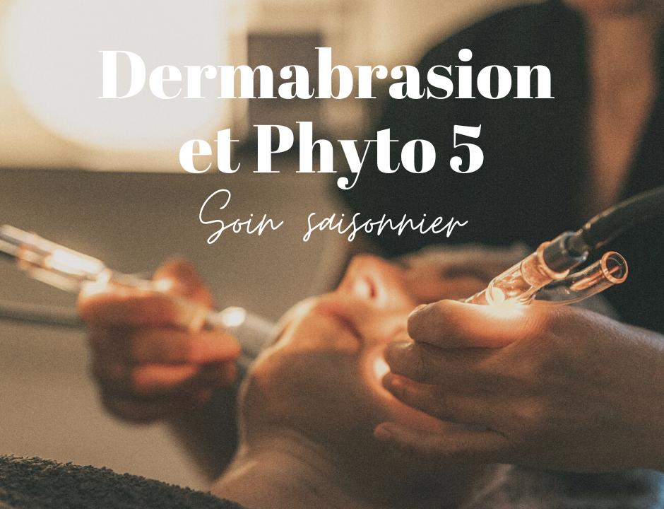 image qui presente le soin saisonnier dermabrasion et phyto 5