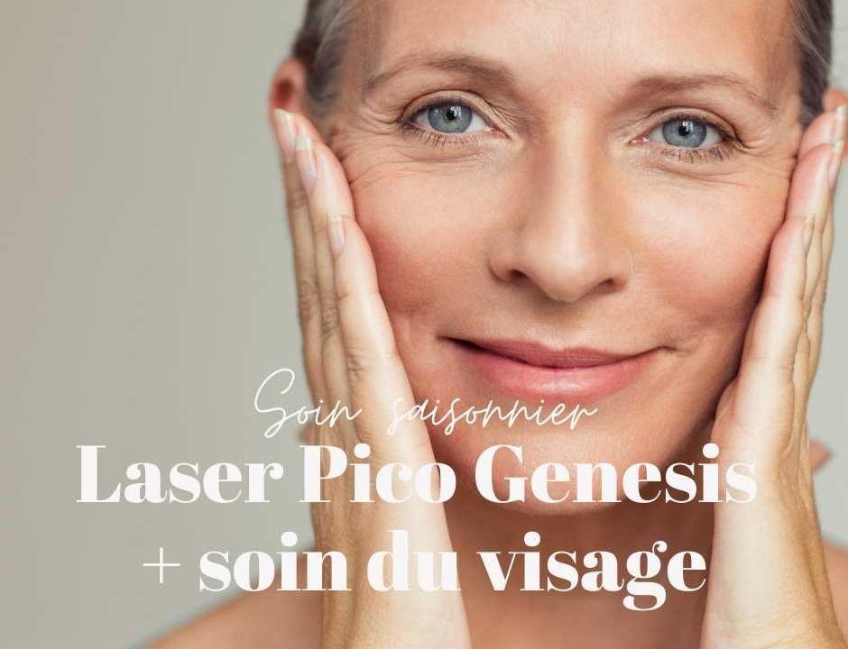 soin du visage avec laser Pico Genesis